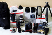 Canon EOS 7D 18MP with lens Kits