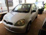 Toyota Echo,  2002.  Rego. until March.