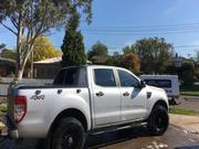 2012 Ford Ranger 2012 Ford Ranger XL PX Manual 4x4 Double Cab