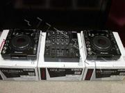 Pioneer CDJ 1000MK3 Pair & DJM 800 Mixer